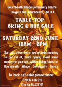 TABLE-TOP BRING & BUY SALE 1