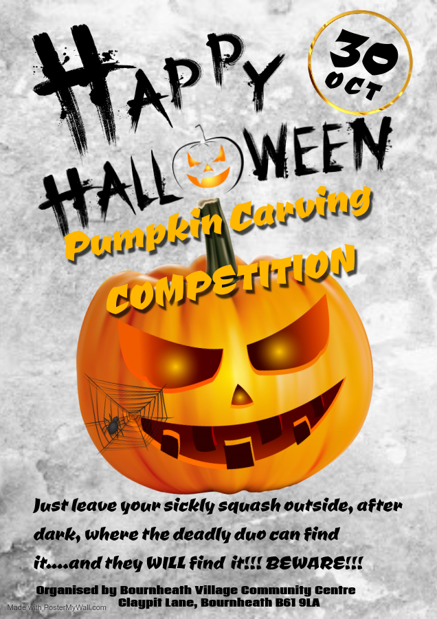 HALLOWEEN PUMPKIN CARVING COMPETITION 1