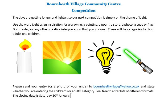 An opportunity to enter our   new competition 7